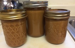 Overnight success! Three Jars of Crock Pot Dulce de Leche is ready to eat!