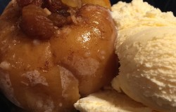 These baked apples will make you think very naughty thoughts.